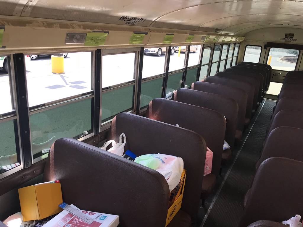 All bus seats are full but we can add more until 6:30!