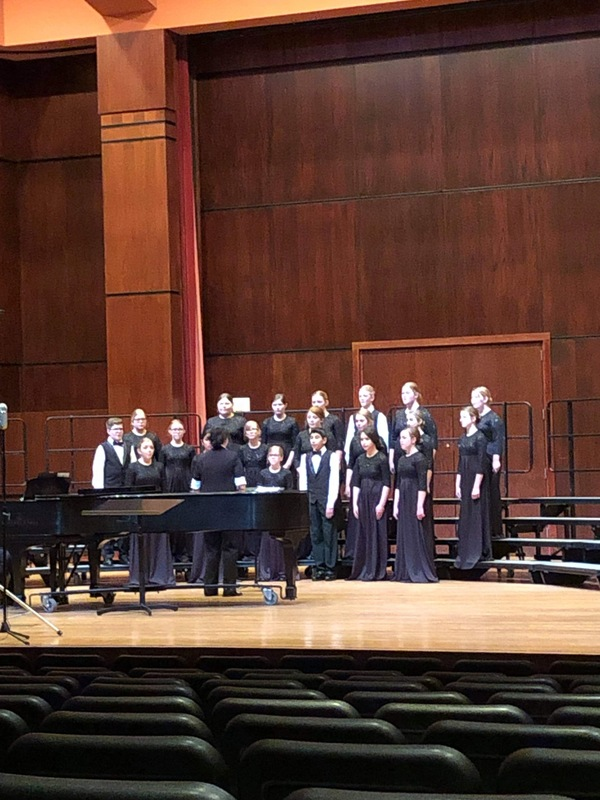 WCC Honor Choir at CPA